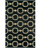 RugStudio presents Rizzy Vicki Payne Vp8028 Black Hand-Tufted, Good Quality Area Rug
