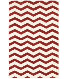 RugStudio presents Rizzy Vicki Payne Vp8464 Red/Ivory Hand-Tufted, Good Quality Area Rug