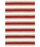 RugStudio presents Rizzy Vicki Payne Vp8465 Red/Ivory Hand-Tufted, Good Quality Area Rug