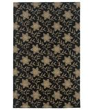 RugStudio presents Rizzy Country CT-912 Black Hand-Tufted, Good Quality Area Rug