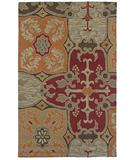 RugStudio presents Rizzy Country CT-1015 Red Hand-Tufted, Good Quality Area Rug