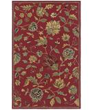 RugStudio presents Rizzy Dimension DI-1161 Red Hand-Tufted, Good Quality Area Rug