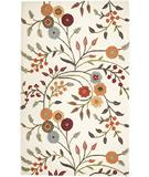 RugStudio presents Rizzy Dimension DI-1466 White Hand-Tufted, Good Quality Area Rug