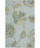RugStudio presents Rizzy Dimension DI-1615 Light Blue Hand-Tufted, Good Quality Area Rug