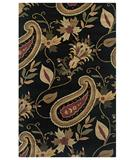 RugStudio presents Rizzy Destiny DT-920 Black Hand-Tufted, Good Quality Area Rug