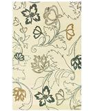 RugStudio presents Rizzy Fusion FN-573 Ivory Hand-Tufted, Good Quality Area Rug