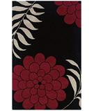 RugStudio presents Rugstudio Sample Sale 32292R Black Hand-Tufted, Good Quality Area Rug