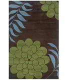 RugStudio presents Rizzy Fusion FN-1044 Chocolate Hand-Tufted, Good Quality Area Rug