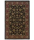 RugStudio presents Rizzy Volare VO-821 Black-Burgundy Hand-Tufted, Good Quality Area Rug