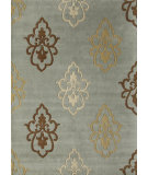 RugStudio presents Rugs America Allure 4830b Blue Glory Hand-Tufted, Best Quality Area Rug