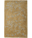 RugStudio presents Rugs America Flora 3065 Bryant Gold Hand-Tufted, Better Quality Area Rug