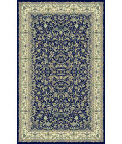 RugStudio presents Famous Maker Machine Made 66615 Naiin Navy Machine Woven, Good Quality Area Rug