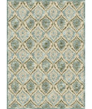 RugStudio presents Famous Maker Machine Made 66643 Panel Light Blue Machine Woven, Good Quality Area Rug