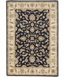 RugStudio presents Famous Maker Tufted 43087 Oxford Blue Hand-Tufted, Good Quality Area Rug