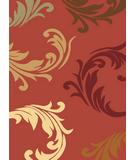 RugStudio presents Famous Maker Machine Made 43010 Vines Rose Machine Woven, Good Quality Area Rug