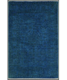 RugStudio presents Rugstudio Overdyed 444192-616 Blue Hand-Knotted, Good Quality Area Rug