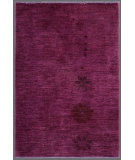 RugStudio presents Rugstudio Overdyed 444193-616 Fuchsia Hand-Knotted, Good Quality Area Rug