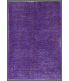 RugStudio presents Rugstudio Overdyed 449422-616 Purple Hand-Knotted, Good Quality Area Rug