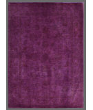 RugStudio presents Rugstudio Overdyed 449427-616 Fuchsia Hand-Knotted, Good Quality Area Rug