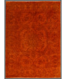 RugStudio presents Rugstudio Overdyed 449428-616 Orange Hand-Knotted, Good Quality Area Rug