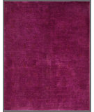 RugStudio presents Rugstudio Overdyed 449430-616 Fuchsia Hand-Knotted, Good Quality Area Rug