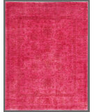 RugStudio presents Rugstudio Overdyed 449439-616 Pink Hand-Knotted, Good Quality Area Rug