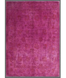 RugStudio presents Rugstudio Overdyed 449440-616 Fuchsia Hand-Knotted, Good Quality Area Rug