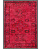 RugStudio presents Rugstudio Overdyed 449452-616 Red Hand-Knotted, Good Quality Area Rug