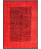 RugStudio presents Rugstudio Overdyed 449454-616 Red Hand-Knotted, Good Quality Area Rug