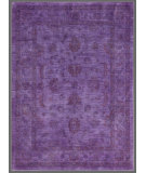 RugStudio presents Rugstudio Overdyed 449455-616 Purple Hand-Knotted, Good Quality Area Rug