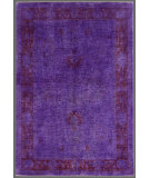 RugStudio presents Rugstudio Overdyed 449462-616 Purple Hand-Knotted, Good Quality Area Rug
