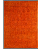 RugStudio presents Rugstudio Overdyed 449463-616 Orange Hand-Knotted, Good Quality Area Rug