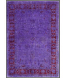 RugStudio presents Rugstudio Overdyed 449464-616 Purple Hand-Knotted, Good Quality Area Rug