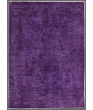 RugStudio presents Rugstudio Overdyed 449471-616 Purple Hand-Knotted, Good Quality Area Rug