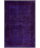 RugStudio presents Rugstudio Overdyed 451788-616 Purple Hand-Knotted, Best Quality Area Rug