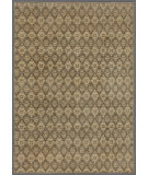 RugStudio presents Rugstudio Tabriz 458026-616 Green / Green Hand-Knotted, Good Quality Area Rug