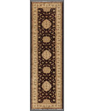 RugStudio presents Rugstudio Farhan 458226-616 Brown / Beige Hand-Knotted, Good Quality Area Rug