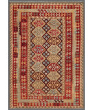 RugStudio presents Rugstudio Maimana Kilims 458960-616 Hand-Knotted, Good Quality Area Rug