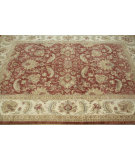 RugStudio presents Rugstudio Chastian Mzb-29 Rusty Red/Wheat Hand-Knotted, Good Quality Area Rug