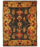 RugStudio presents Safavieh Bohemian BOH316A Charcoal / Gold Woven Area Rug