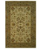 RugStudio presents Safavieh Bergama BRG135A Ivory / Light Grey Hand-Tufted, Best Quality Area Rug