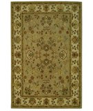 RugStudio presents Safavieh Bergama BRG135B Khaki / Ivory Hand-Tufted, Best Quality Area Rug