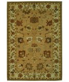 RugStudio presents Safavieh Bergama BRG136A Taupe / Ivory Hand-Tufted, Best Quality Area Rug