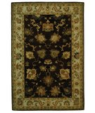 RugStudio presents Safavieh Bergama BRG136B Brown / Ivory Hand-Tufted, Best Quality Area Rug