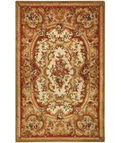 RugStudio presents Safavieh Classic CL222B Ivory / Red Hand-Tufted, Best Quality Area Rug