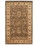 RugStudio presents Safavieh Classic CL249A Brown / Creme Hand-Tufted, Good Quality Area Rug