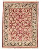 RugStudio presents Safavieh Classic CL251A Red / Black Hand-Tufted, Best Quality Area Rug