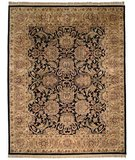 RugStudio presents Safavieh Classic CL252A Black / Gold Hand-Tufted, Best Quality Area Rug