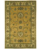 RugStudio presents Safavieh Classic CL314B Gold / Ivory Hand-Tufted, Best Quality Area Rug