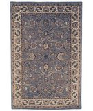 RugStudio presents Safavieh Classic CL359B Light Blue / Ivory Hand-Tufted, Best Quality Area Rug